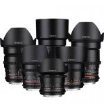 Cine DS 6-Lens Kit