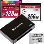Memory Cards & CFast Card Reader