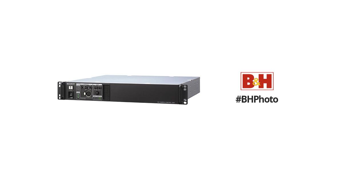 sony digital triax camera control unit for hxc d70 and hxcu tx70 rh bhphotovideo com