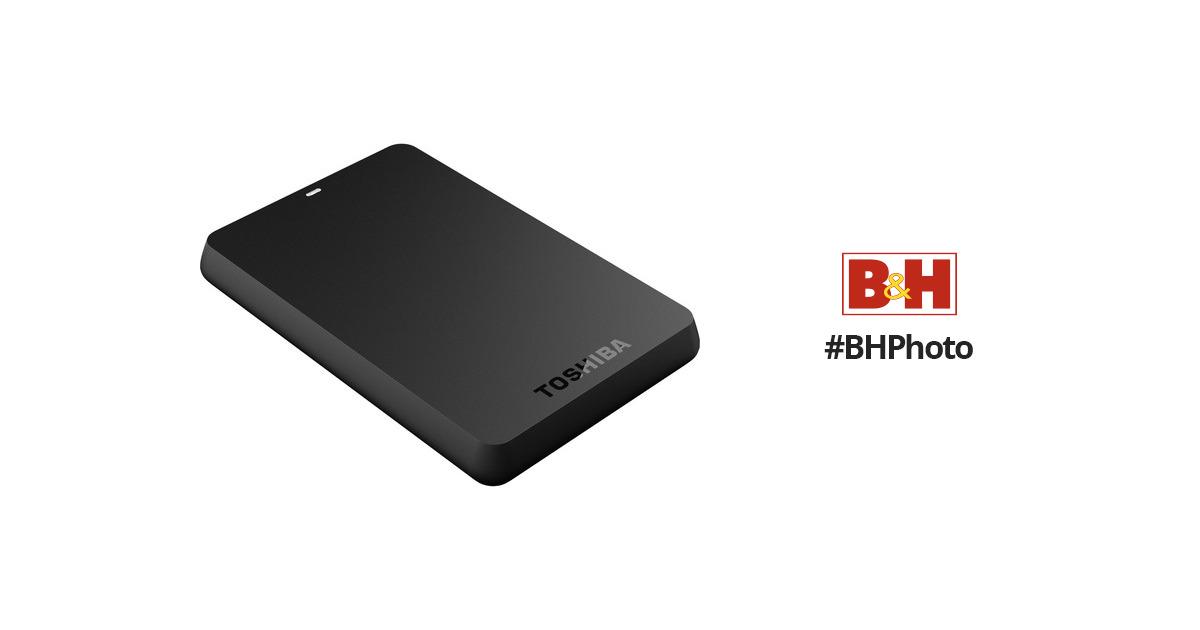 Toshiba 500GB Canvio Basics 3.0 Portable Hard Drive HDTB105XK3AA