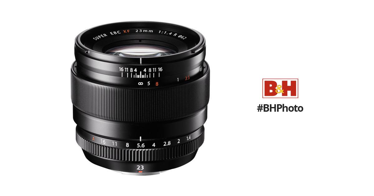 Fujifilm XF 23mm f/1.4 R Lens 16405575 B&H Photo Video