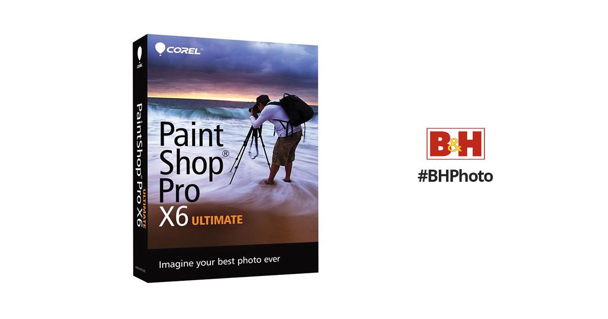 corel paintshop pro x6 ultimate pspx6ulenmbam b h photo video rh bhphotovideo com Paint Shop Pro Adjust Paint Shop Pro Portable