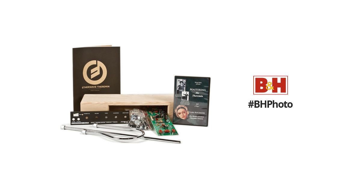 moog etherwave plus theremin kit with 110v power ew pkit 0002. Black Bedroom Furniture Sets. Home Design Ideas