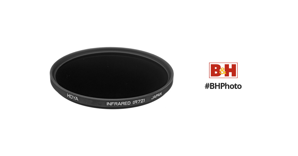 720nm Special Effect Filter Hoya 86mm Infrared R72 Made in Japan B-86RM72-GB