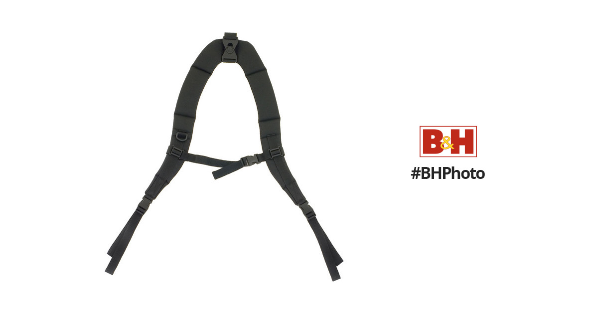 515f816e0b3d PRO TEC Deluxe Padded Backpack Strap BPSTRAP B H Photo Video