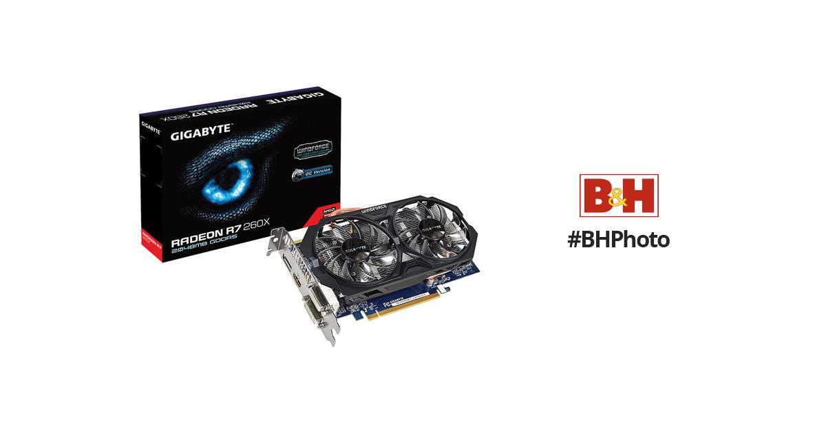 Gigabyte Radeon R7 260X WINDFORCE Edition Graphics Card