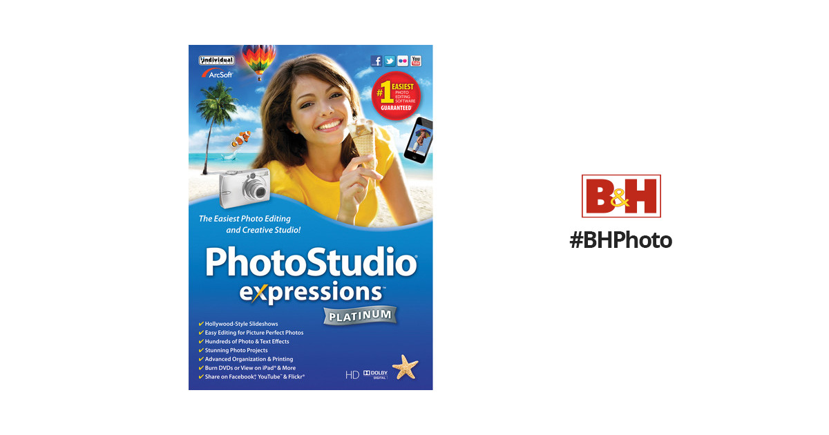 Individual Software Photostudio Expressions Platinum 6 Esd Pe6
