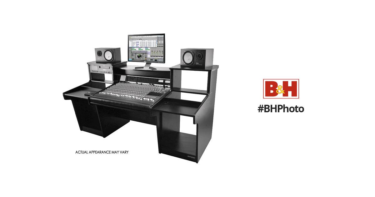 omnirax omnirax mixstation workstation for mackie 24 8 mxdm24 b. Black Bedroom Furniture Sets. Home Design Ideas