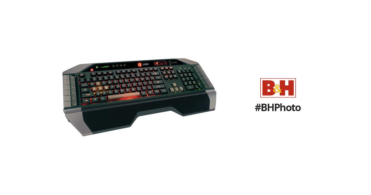 a2e7c1634c8 Mad Catz Cyborg V.7 Gaming Keyboard for PC MCB43107N0B2/04/1 B&H