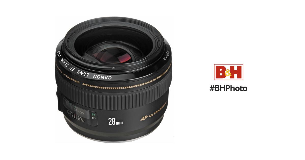 a8edb25d659d1 Canon EF 28mm f 1.8 USM Lens 2510A003 B H Photo Video