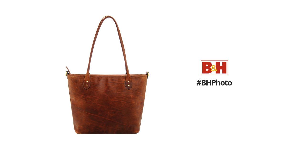 c8d271c37c ONA Leather Capri Camera Tote Bag (Antique Cognac) ONA009LBR B H