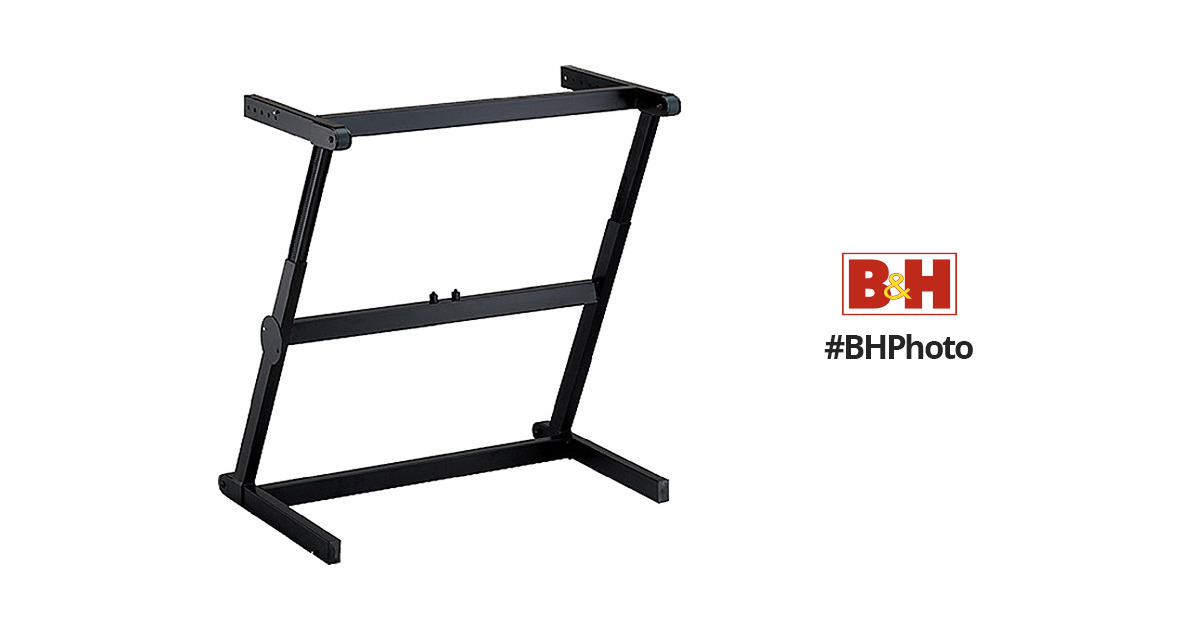 quiklok z 71 zeenith single tier keyboard stand z71 b h photo. Black Bedroom Furniture Sets. Home Design Ideas