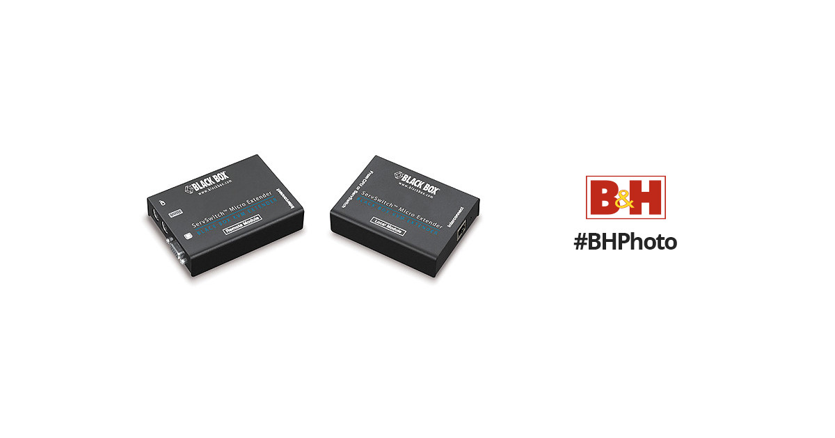 BLACK BOX CORP CAT5 KVM Micro Extender ACU3001A NIB