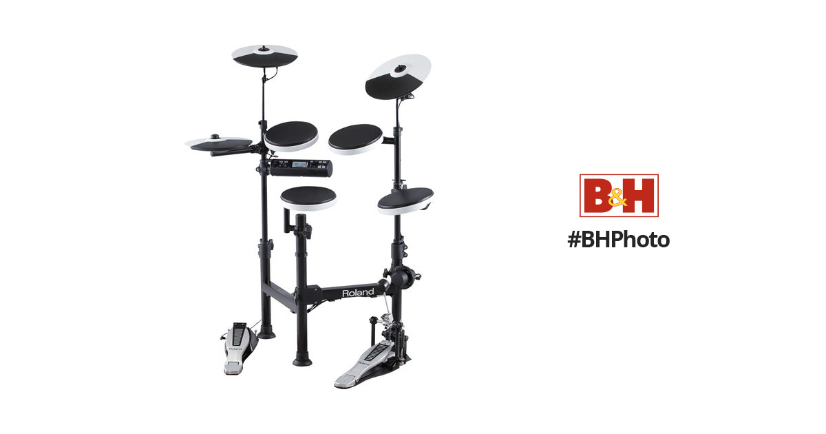 roland td 4kp v drums portable electronic drum kit td 4kp b h. Black Bedroom Furniture Sets. Home Design Ideas