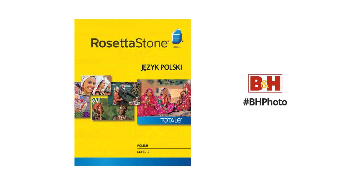 Rosetta Stone Polish Level 1 27850WIN B&H Photo Video