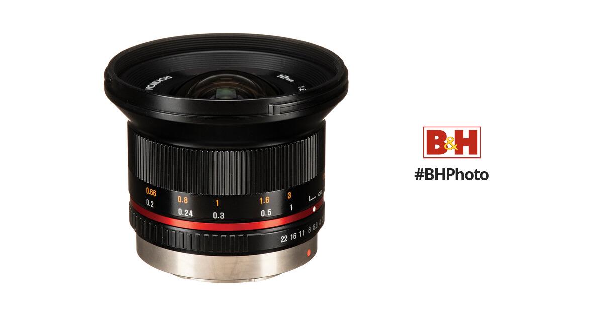 Rokinon 12mm f/2.0 NCS CS Lens for Micro Four Thirds RK12M-MFT