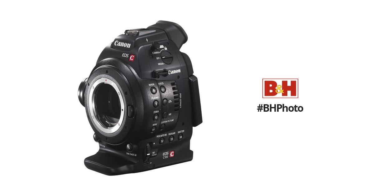 ca5fcf5c4625b Canon EOS C100 Cinema EOS Camera with Dual Pixel CMOS 7428B002