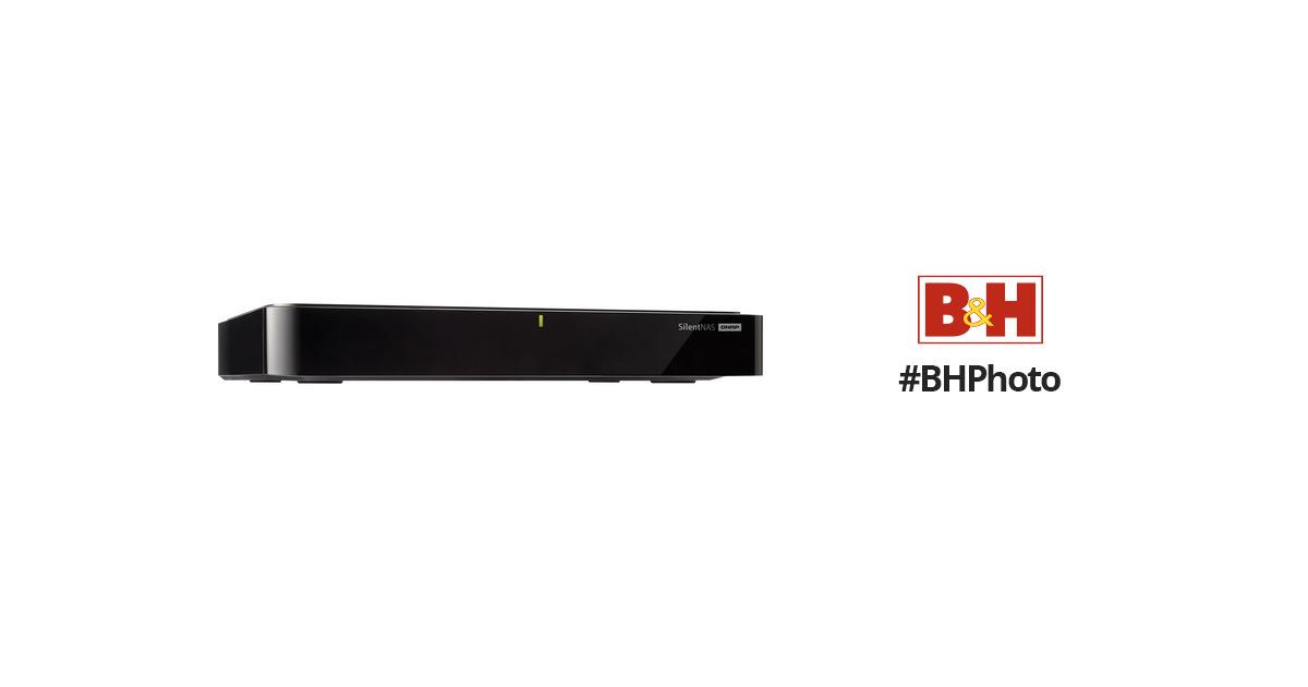 QNAP HS-210 2-Bay Fanless NAS Server HS-210 B&H Photo Video