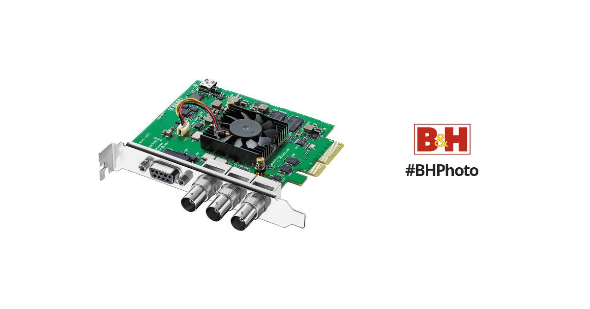 Blackmagic Design Decklink SDI 4K Capture & Playback Card