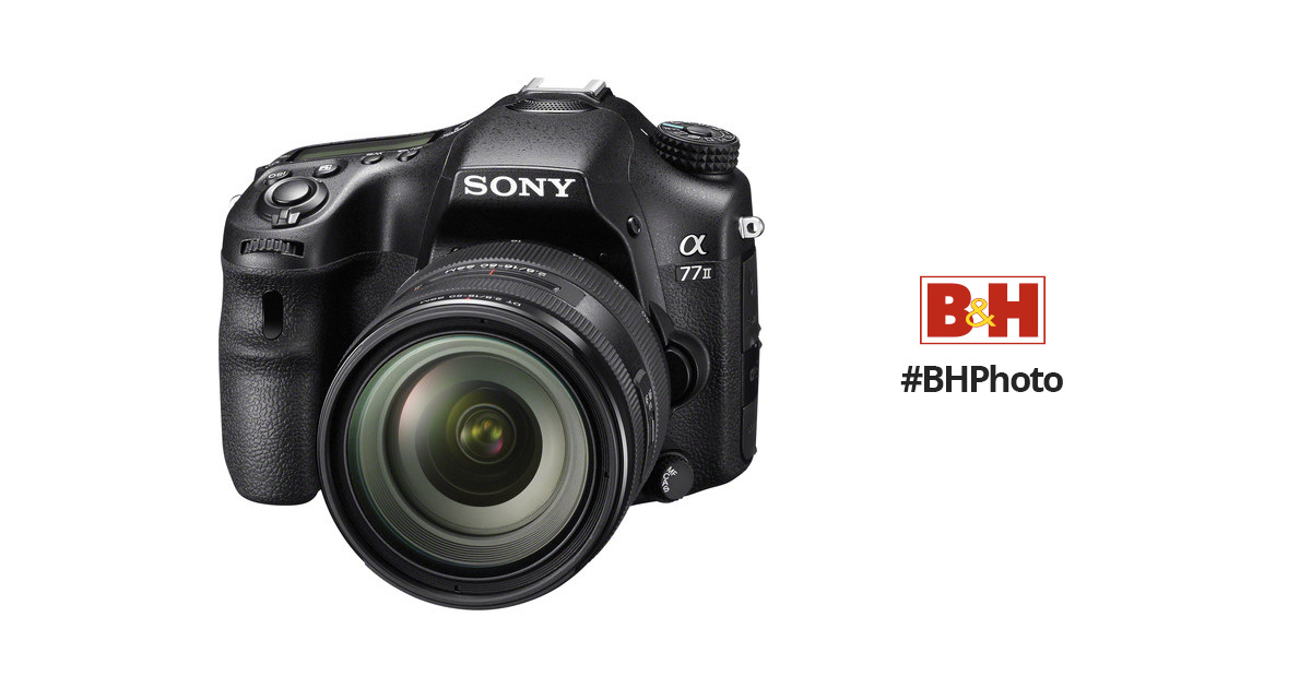 Sony Alpha a77 II DSLR Camera with 16-50mm f/2.8 Lens ILCA77M2Q