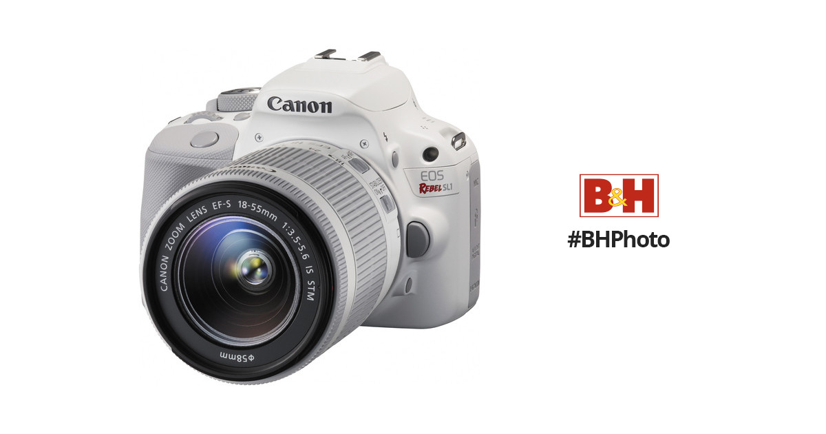 Canon EOS Rebel SL1 DSLR Camera with 18-55mm Lens 9123B002 B&H
