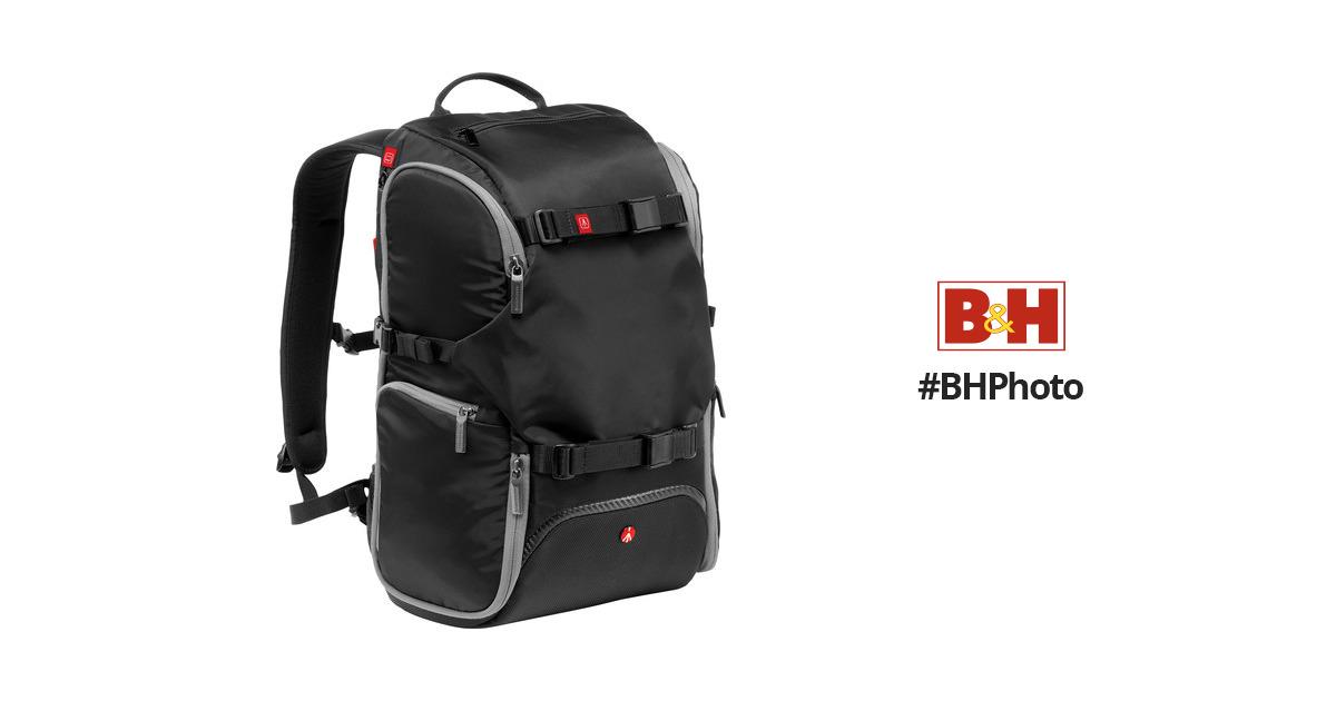 c30e8d81ac Manfrotto Advanced Travel Backpack (Black) MB MA-BP-TRV B H