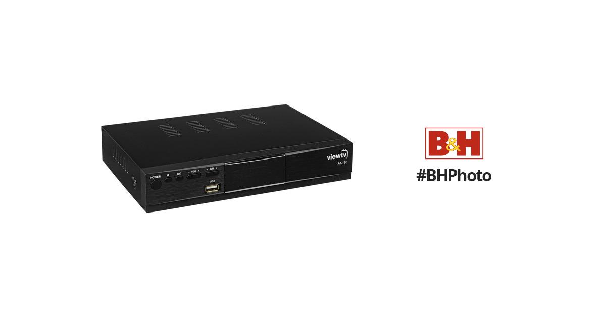 ViewTV AT-163 ATSC Digital TV Converter Box and Media Player