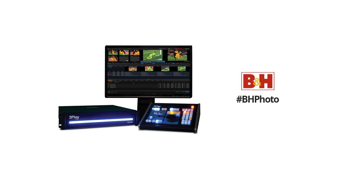 Newtek 3play 440 Instant Replay System Fg 000803 R001 B Amp H