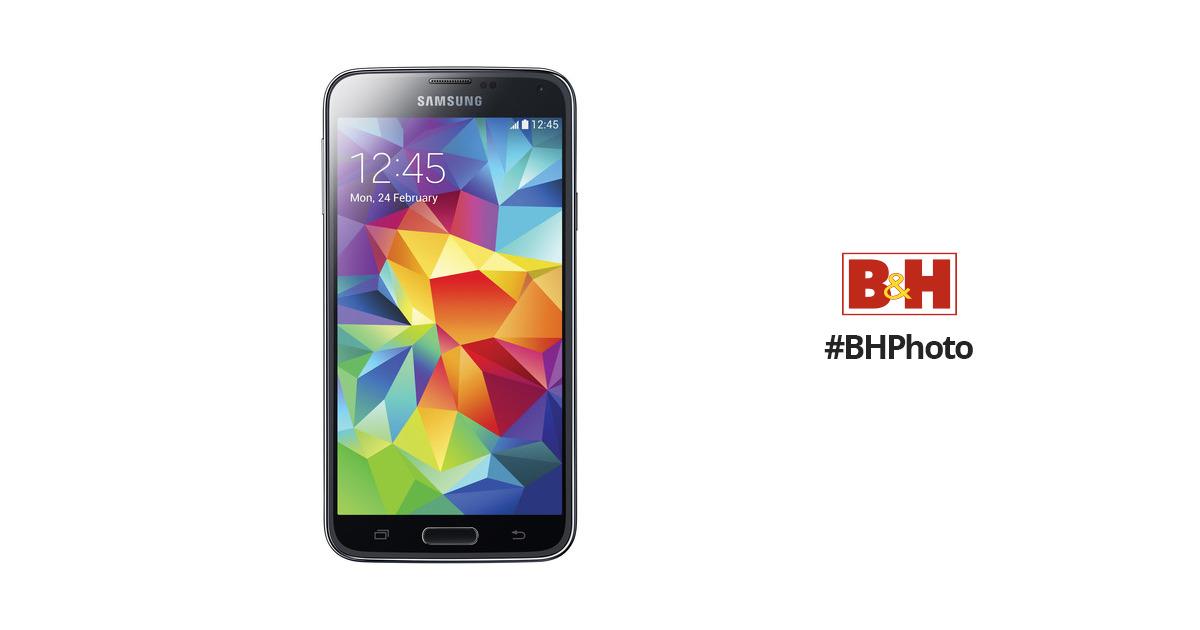 Samsung Galaxy S5 SM-G900F 16GB Smartphone (Unlocked, Black)