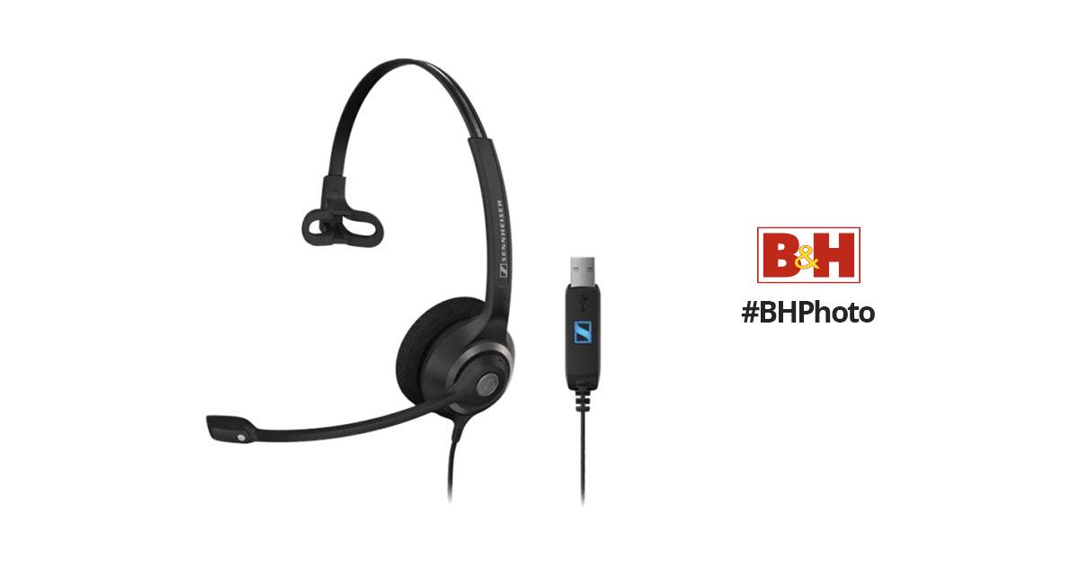 sennheiser sc 230 usb professional wired headset 504403 b u0026h