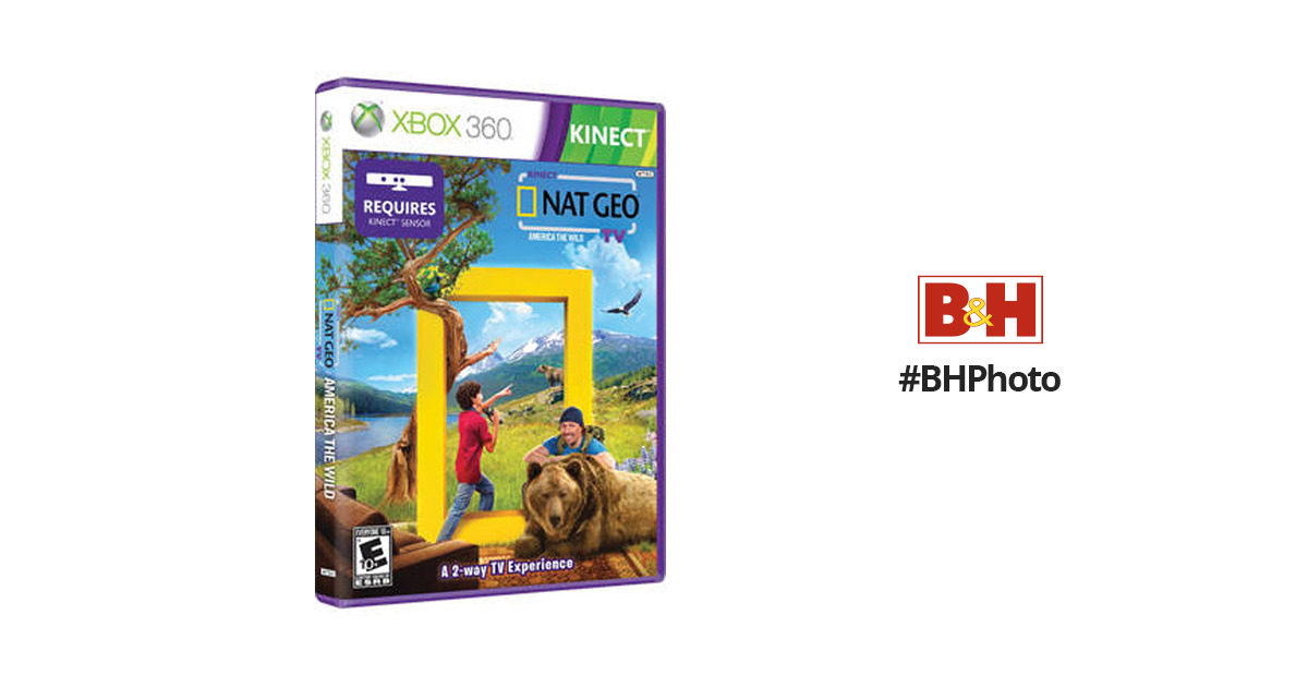 Microsoft Kinect Nat Geo TV (Xbox 360)