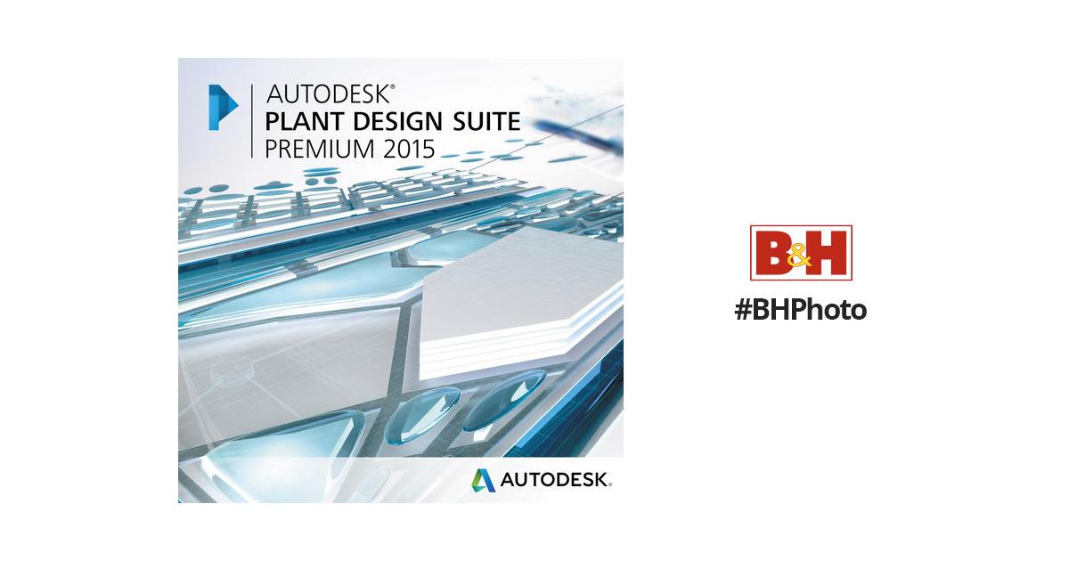 autodesk plant design suite premium 2015 763g1 wwr111 1001 b h. Black Bedroom Furniture Sets. Home Design Ideas