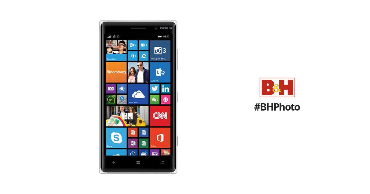 Nokia Lumia 830 RM-985 16GB Smartphone A00021288 B&H Photo ...