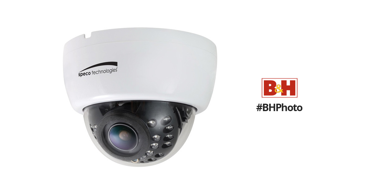 Speco Technologies 700 TVL Indoor Dome Camera with 2.8 ...