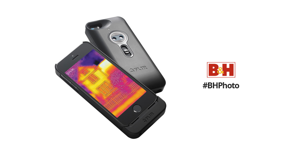competitive price 0fba5 70850 FLIR ONE Thermal Imaging Case for iPhone 5/5s