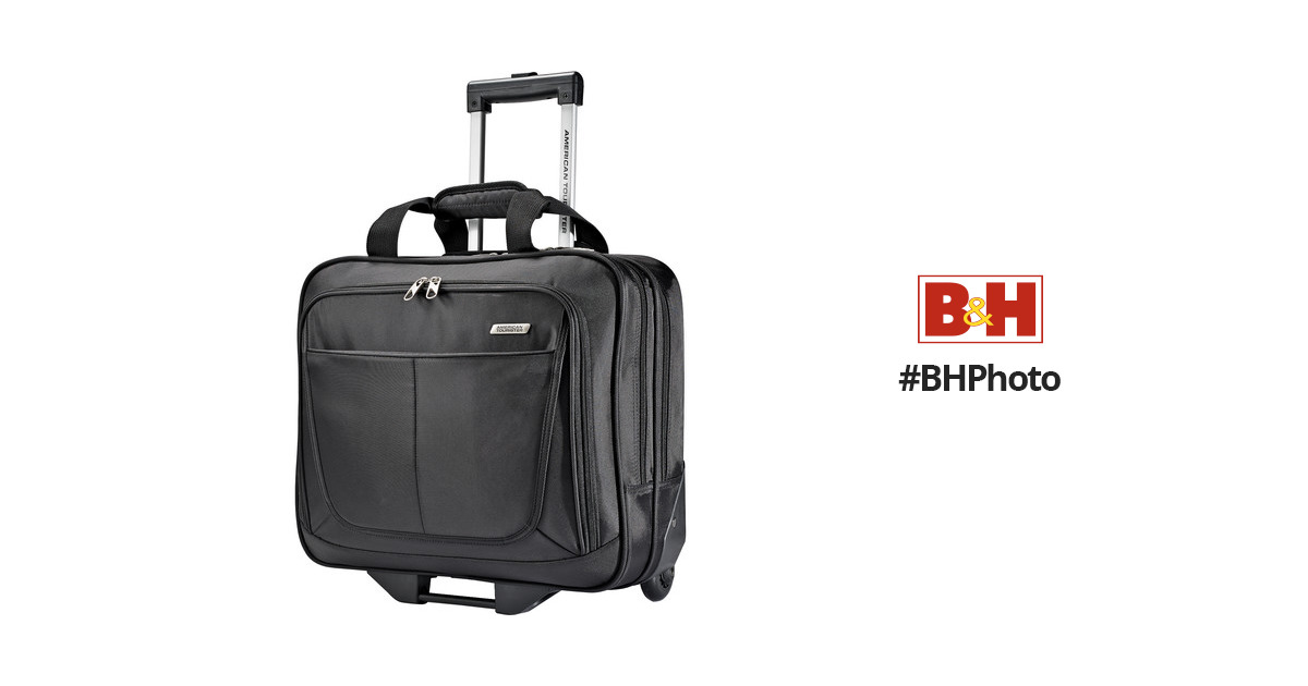 American tourister wheeled mobile office 61772 1041 b h photo - American tourister office bags ...