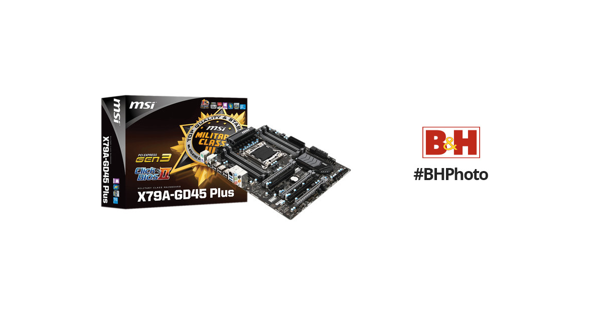 MSI X79MA-GD45 Teaming Genie New