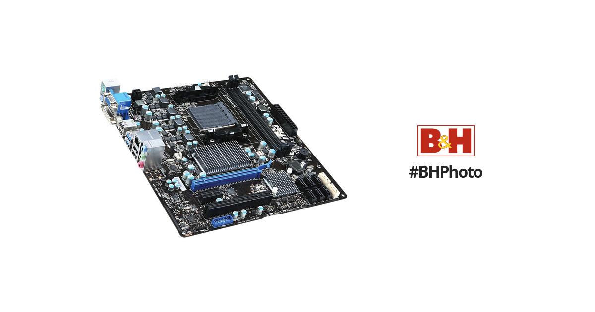 MSI 760GMA-P34 (FX) Micro-ATX Desktop Motherboard