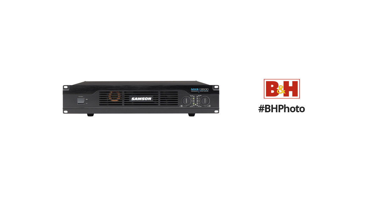 Samson MXS3500 Professional Power Amplifier