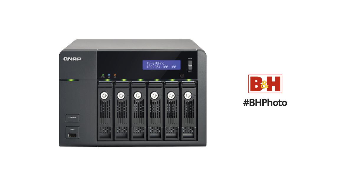 QNAP TS-670Pro TurboNAS QTS XP