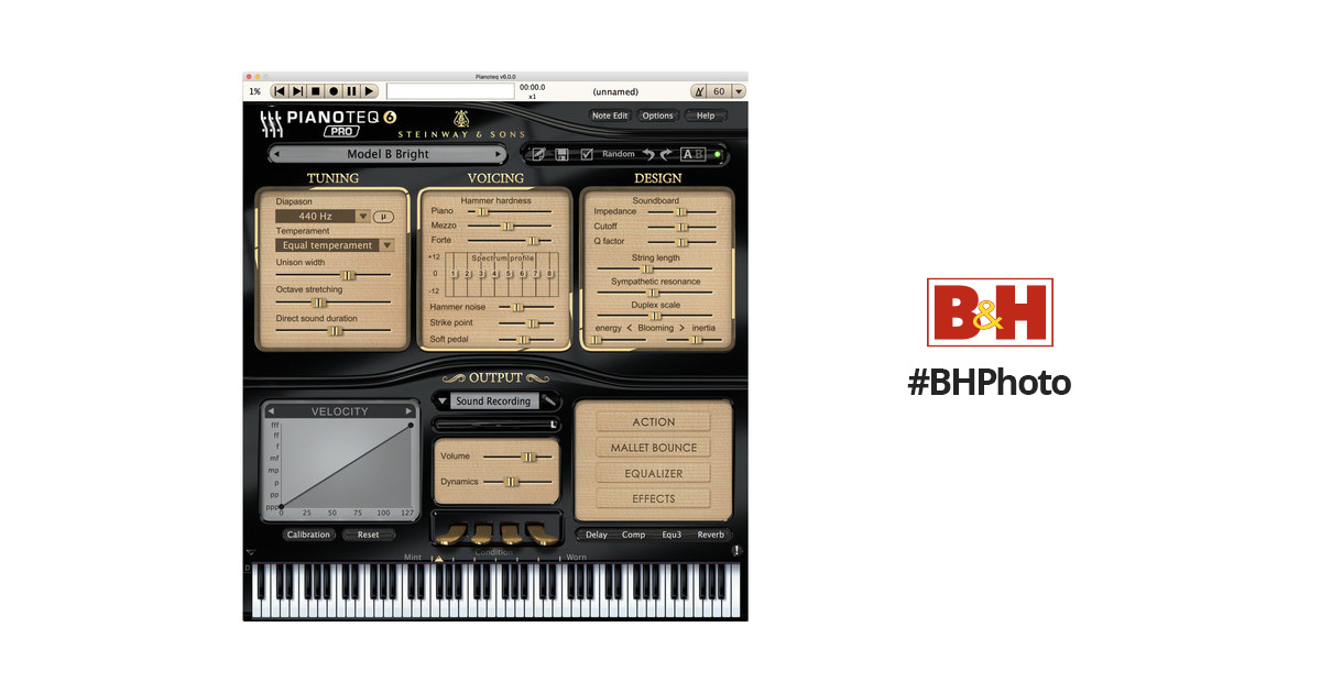 Pianoteq 6 PRO - Virtual Piano (Download) 12-41380 B&H Photo