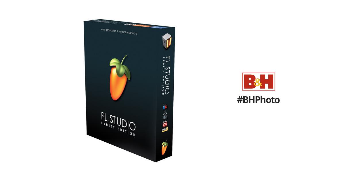 Image-Line FL Studio 11 Fruity Edition - Music 10-15215 B&H