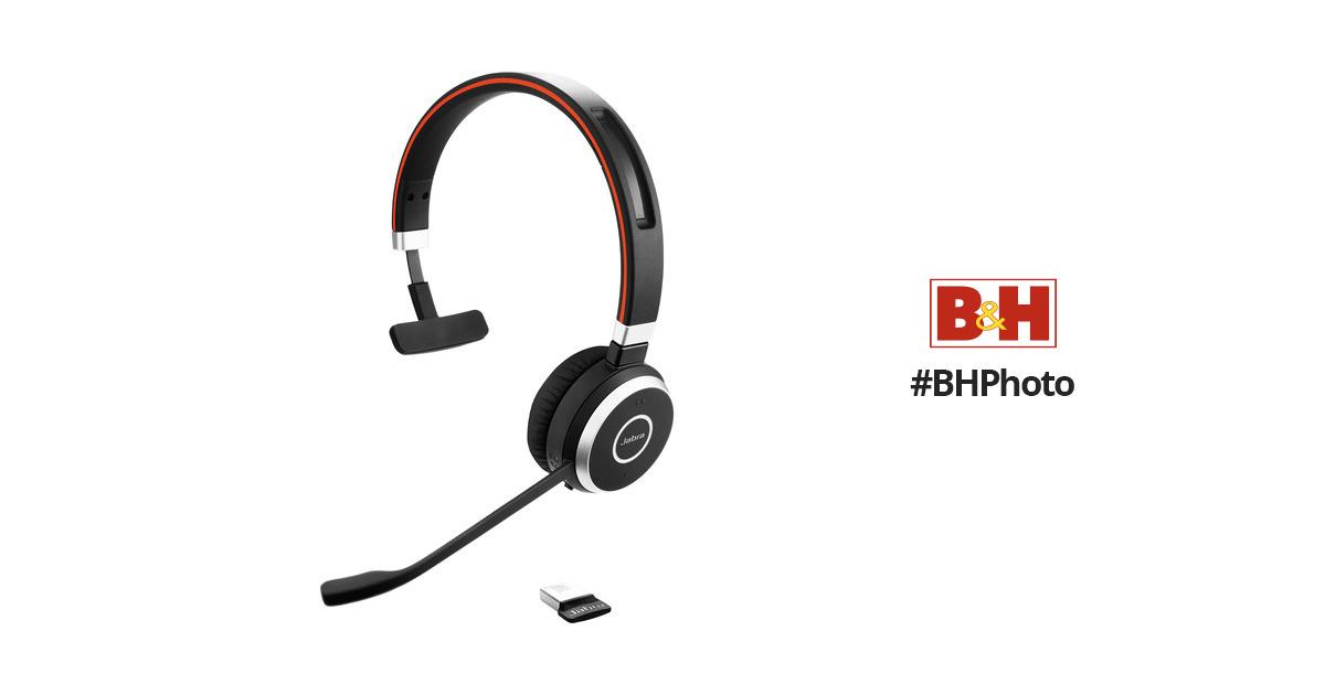 Jabra Evolve 65 Uc Mono Bluetooth Headset 6593 829 409 B H Photo
