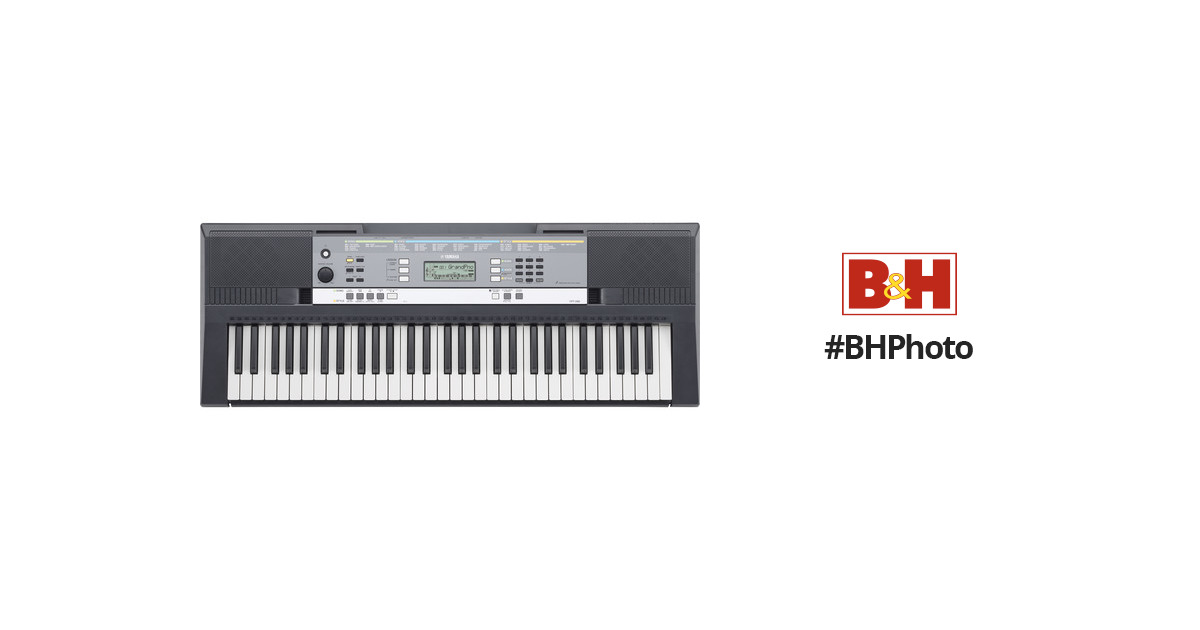 yamaha ypt 240 portable keyboard no power adapter ypt 240. Black Bedroom Furniture Sets. Home Design Ideas