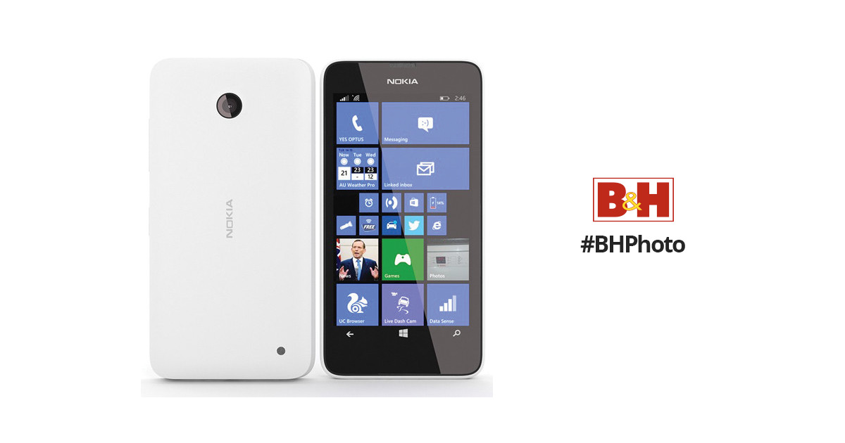 Nokia Lumia 635 RM-975 8GB Smartphone (Unlocked, White)
