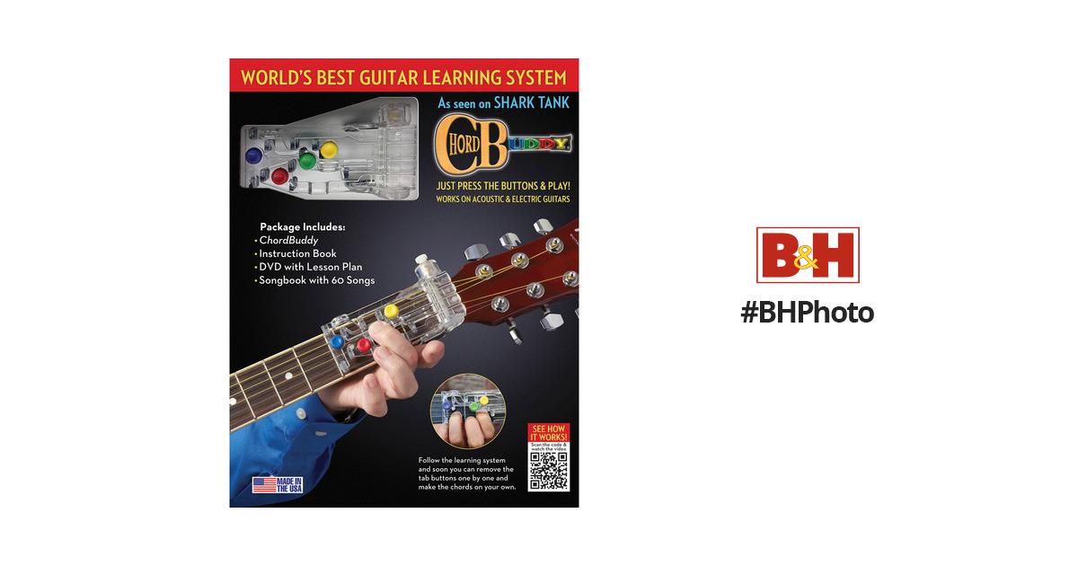Chordbuddy Chordbuddy Guitar Learning System 139936 Bh Photo