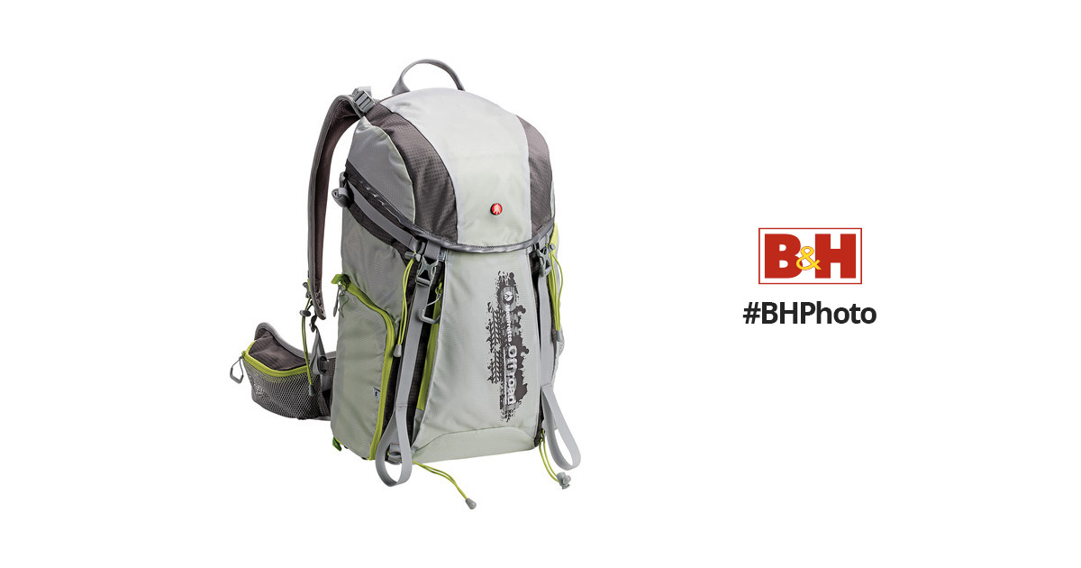 Manfrotto Off road Hiker Backpack (30L, Gray) MB OR-BP-30GY B&H