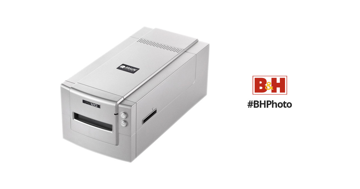 HP Marketing Intros Braun FS120 Medium-Format Scanner ...