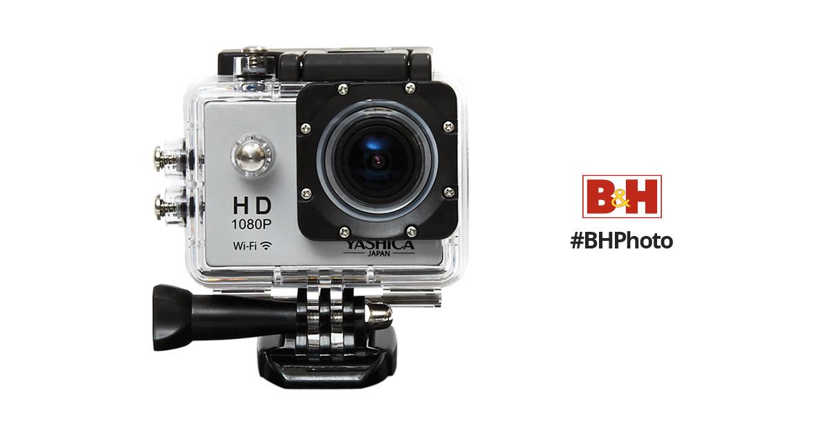 Kyocera Yashica Yac 300 Action Camera With Wi Fi Yac 300 B H
