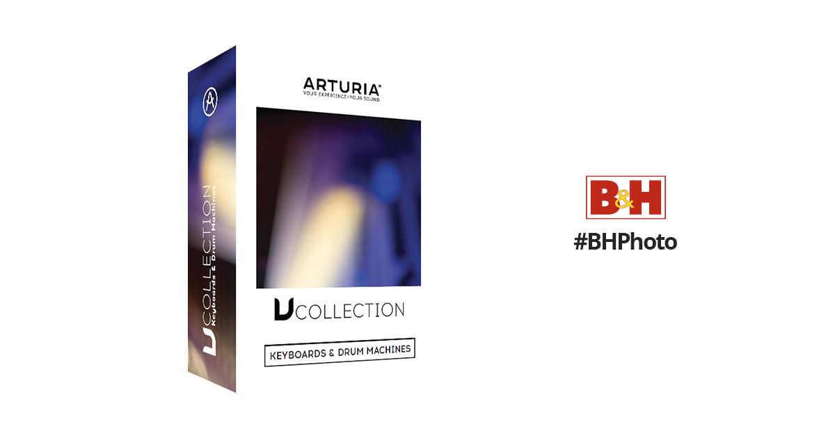 arturia v collection 4 software instruments bundle 220501 d. Black Bedroom Furniture Sets. Home Design Ideas